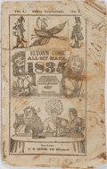 Books:Americana & American History, [Almanac]. Elton's Comic All-My-Nack, 1835. New York: R. H. Elton.Octavo. Ninety engravings throughout, some hand colored. ...