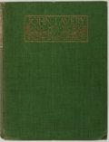 Books:Americana & American History, Walter Shaw-Sparrow. John Lavery and His Work. London: KeganPaul, Trench, Trubner and Co., [n.d.]. Circa 1912. Quar...