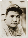 Autographs:Photos, 1932 Babe Ruth Signed Photograph....