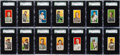 "Baseball Cards:Sets, 1909-11 T206 White Border Partial Set (167) With HoFers and Over 30""Polar Bear"" Backs. ..."