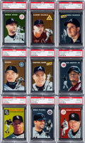 Baseball Cards:Sets, 2003 Topps Heritage Chrome High Grade Complete Set (100). ...