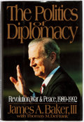 Books:Americana & American History, James A. Baker, III. SIGNED. The Politics of Diplomacy. NewYork: G.P. Putnam's, 1995. First edition, first printing...