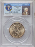 Presidential Dollars, 2007-P $1 John Adams, Doubled Edge Letters, Overlapped Brilliant Uncirculated PCGS....