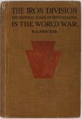 Books:Americana & American History, H. G. Proctor. The Iron Division National Guard of Pennsylvaniain the World War. The John C. Winston Company, 1...