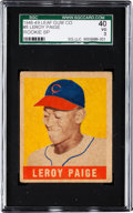 Baseball Cards:Singles (1940-1949), 1948 Leaf Satchel Paige SP #8 SGC 40 VG 3....