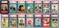 Football Cards:Sets, 1971, 1978 - 1989 Topps & Score Football Complete Sets Collection (11). ...