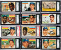 Baseball Cards:Sets, 1956 Topps Baseball Mid to High Grade Complete Set (340). ...