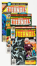 Bronze Age (1970-1979):Science Fiction, The Eternals #1-19 Complete Run Plus Short Box Group (Marvel,1976-78) Condition: Average VF/NM....