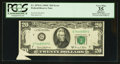 Error Notes:Foldovers, Fr. 2070-G $20 1969C Federal Reserve Note. PCGS Apparent Very Fine35.. ...