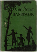 Books:Americana & American History, [Girl Scouts] Girl Scout Handbook. The Girl Scouts, Inc.,1930. Early edition. Illustrated. Publisher's original...