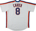 Baseball Collectibles:Uniforms, Gary Carter Signed New York Mets Jersey....