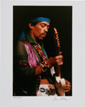 Music Memorabilia:Photos, Jimi Hendrix Limited Edition Artist's Proof Photo Print by GeneAnthony....