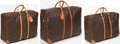 Luxury Accessories:Travel/Trunks, Louis Vuitton Set of Three; Classic Monogram Canvas Sirius SuitcaseBags. ... (Total: 3 Items)