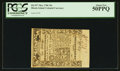 Colonial Notes:Rhode Island, Rhode Island May 1786 10s PCGS About New 50PPQ.. ...