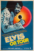 Music Memorabilia:Posters, Elvis On Tour Theatrical Poster (MGM, 1972)....