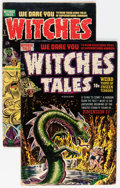 Golden Age (1938-1955):Horror, Witches Tales #9 and 17 Group (Harvey, 1952-53).... (Total: 2 ComicBooks)