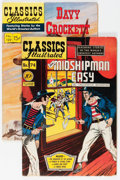 Golden Age (1938-1955):Classics Illustrated, Classics Illustrated #74 and 129 First Editions Group (Gilberton, 1950-55).... (Total: 2 Comic Books)