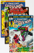 Bronze Age (1970-1979):Superhero, The Amazing Spider-Man Group (Marvel, 1971-80) Condition: AverageVF-.... (Total: 66 Comic Books)