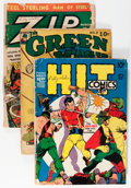 Golden Age (1938-1955):Miscellaneous, Golden Age Miscellaneous Comics Group (Various Publishers, 1940s-50s) Condition: Average FR.... (Total: 13 Comic Books)