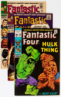 Fantastic Four Group (Marvel, 1966-72) Condition: Average VF-.... (Total: 64 Comic Books)
