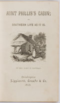 Books:Literature Pre-1900, Mrs. Mary H. Eastman. Aunt Phillis's Cabin. Philadelphia: Lippincott, Grambo and Co., 1852. Fifth thousand. Heavy fo...
