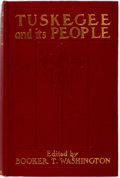 Books:Americana & American History, Booker T. Washington, editor. Tuskegee and Its People: Their Ideals and Achievements. New York: D. Appleton, 1905. F...