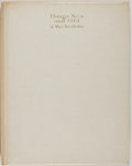 Books:Art & Architecture, Max Beerbohm. SIGNED/LIMITED. Things New and Old. London: William Heinemann, 1923. Limited edition of 380, signed by...