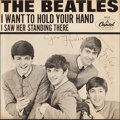 "Music Memorabilia:Autographs and Signed Items, Beatles Signed ""I Want to Hold Your Hand"" 45 Picture Sleeve(Capitol 5112, 1964). ..."