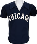 Baseball Collectibles:Uniforms, 1978-80 Harry Chappas Game Worn Chicago White Sox Jersey. ...