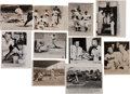 Baseball Collectibles:Photos, 1950's New York Yankees & More Wire Photographs Lot of 90+....