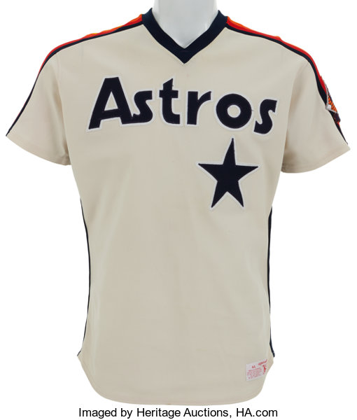 461b2e01119 1986 Nolan Ryan Game Worn Houston Astros Jersey.... Baseball