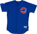 Baseball Collectibles:Uniforms, 2012 Geovany Soto Game Worn Chicago Cubs Jersey. ...
