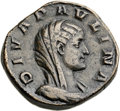 Ancients:Roman Imperial, Ancients: Diva Paulina, wife of Maximinus I (died before AD 235). Æsestertius (30mm, 22.50 gm, 2h)....