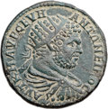 Ancients:Roman Provincial , Ancients: THRACE. Philippopolis. Caracalla (AD 198-217). Æ 35mmmedallion (22.29 gm, 1h). ...