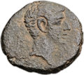 Ancients:City Coins, Ancients: Gaza, Judaea. Augustus (27 BC-AD 14). Æ 23mm (8.01 gm, 1h). ...