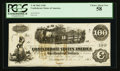 Confederate Notes:1862 Issues, T40 $100 1862 PF-20 Cr. 208, 309.. ...