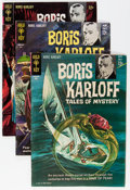 Silver Age (1956-1969):Horror, Boris Karloff Related Short Box Group (Gold Key, 1960s-70s)Condition: Average GD/VG....