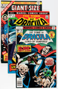 Bronze Age (1970-1979):Horror, Tomb of Dracula Short Box Group (Marvel, 1973-79) Condition:Average VF....