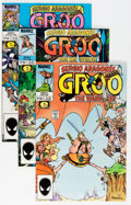 Modern Age (1980-Present):Humor, Groo the Wanderer Group (Marvel, 1985-91) Condition: Average NM....(Total: 35 Comic Books)