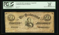 Confederate Notes:1864 Issues, CT66 $50 1864.. ...