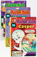 Bronze Age (1970-1979):Cartoon Character, Richie Rich and Casper File Copy Group (Harvey, 1974-82) Condition:Average NM-.... (Total: 90 Comic Books)