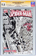 Modern Age (1980-Present):Superhero, The Sensational Spider-Man #35 New York Comic Con Exclusive -Signature Series (Marvel, 2007) CGC NM/MT 9.8 White pages....