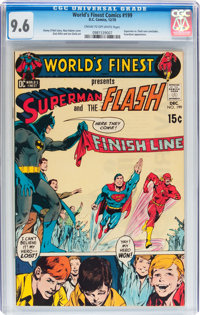 World's Finest Comics #199 (DC, 1970) CGC NM+ 9.6 Cream to off-white pages