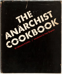 Wiliam Powell. The Anarchist Cookbook. New York: Lyle Stuart, [1971]. First edition, stated sec