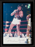 Boxing Collectibles:Autographs, Signed Classic Cards Muhammad Ali Promo. ...