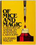 Books:Art & Architecture, Leonard Maltin. SIGNED. Of Mice and Magic: A History of American Animated Cartoons. McGraw-Hill, [1980]. First editi...