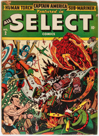 All Select Comics #2 (Timely, 1943) Condition: GD