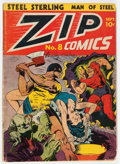 Golden Age (1938-1955):Superhero, Zip Comics #8 (MLJ, 1940) Condition: GD....