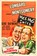 """Movie Posters:Hitchcock, Mr. & Mrs. Smith (RKO, 1941). One Sheet (27"""" X 41"""").. ..."""