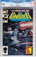 Modern Age (1980-Present):Superhero, Punisher Limited Series #1 (Marvel, 1986) CGC NM/MT 9.8 Whitepages....